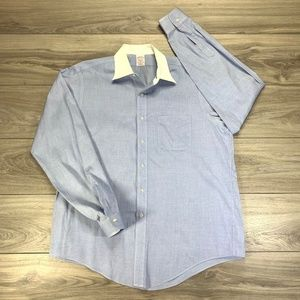 Brooks Brothers Makers Long Sleeve Button Front